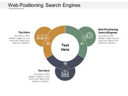 Web Positioning Search Engines Ppt Powerpoint Presentation Infographic Template Format Cpb
