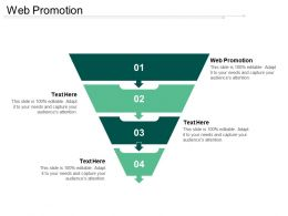 Web Promotion Ppt Powerpoint Presentation Show Aids Cpb
