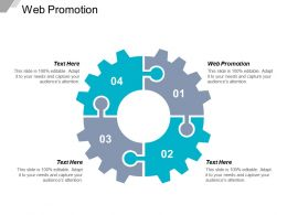 Web Promotion Ppt Powerpoint Presentation Styles Summary Cpb