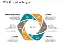 Web Promotion Program Ppt Powerpoint Presentation Model Sample Cpb