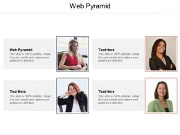 Web Pyramid Ppt Powerpoint Presentation Gallery Sample Cpb