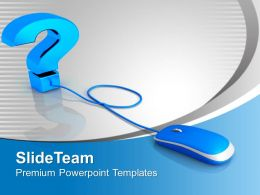Web Question Internet PowerPoint Templates PPT Backgrounds For Slides 0113