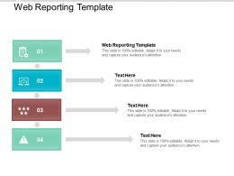 Web Reporting Template Ppt Powerpoint Presentation Slides Show Cpb