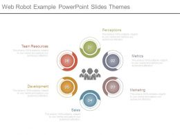Web Robot Example Powerpoint Slides Themes