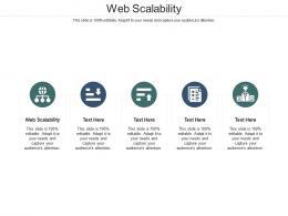 Web Scalability Ppt Powerpoint Presentation Slides Slideshow Cpb