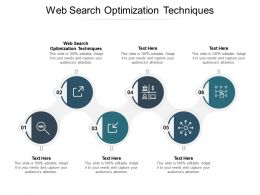 Web Search Optimization Techniques Ppt Powerpoint Presentation Pictures Infographic Template Cpb