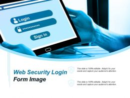 Web Security Login Form Image