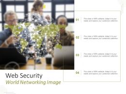 Web Security World Networking Image