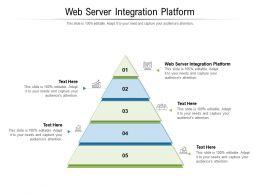 Web Server Integration Platform Ppt Powerpoint Presentation Portfolio Inspiration Cpb