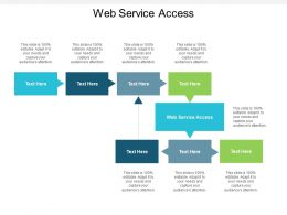 Web Service Access Ppt Powerpoint Presentation File Inspiration Cpb