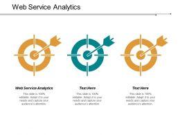 Web Service Analytics Ppt Slides Layout Cpb
