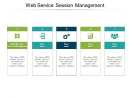 Web Service Session Management Ppt Powerpoint Presentation Inspiration Outline Cpb