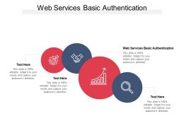 Web Services Basic Authentication Ppt Powerpoint Presentation Professional Elements Cpb