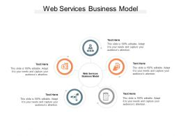 Web Services Business Model Ppt Powerpoint Presentation File Layouts Cpb