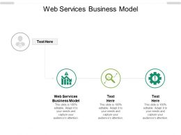 Web Services Business Model Ppt Powerpoint Presentation Gallery Aids Cpb