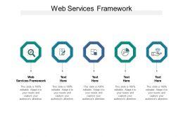 Web Services Framework Ppt Powerpoint Presentation Ideas Professional Cpb