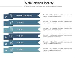 Web Services Identity Ppt Powerpoint Presentation Infographic Template Deck Cpb