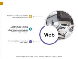 Web Services Informational Ppt Powerpoint Presentation Gallery