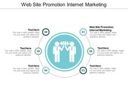 Web Site Promotion Internet Marketing Ppt Powerpoint Presentation Inspiration Visual Aids Cpb