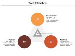 Web Statistics Ppt Powerpoint Presentation Gallery Gridlines Cpb