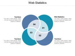 Web Statistics Ppt Powerpoint Presentation Summary Model Cpb