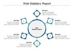 Web Statistics Report Ppt Powerpoint Presentation Summary Background Designs Cpb