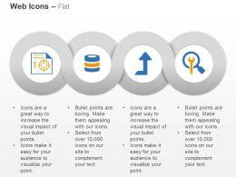 web_target_database_upload_tools_service_ppt_icons_graphics_Slide01