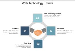Web Technology Trends Ppt Powerpoint Presentation Styles Visual Aids Cpb