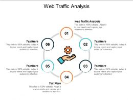Web Traffic Analysis Ppt Powerpoint Presentation File Format Cpb