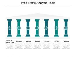 Web Traffic Analysis Tools Ppt Powerpoint Presentation Gallery Show Cpb