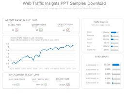 Web Traffic Insights Ppt Samples Download