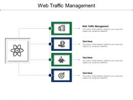 Web Traffic Management Ppt Powerpoint Presentation Styles Files Cpb