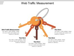 Web Traffic Measurement Ppt Powerpoint Presentation Icon Grid Cpb