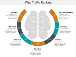 Web Traffic Ranking Ppt Powerpoint Presentation Infographics Layout Ideas Cpb