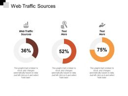 Web Traffic Sources Ppt Powerpoint Presentation Outline Infographic Template Cpb