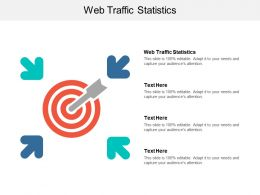 Web Traffic Statistics Ppt Powerpoint Presentation Styles Infographic Template Cpb