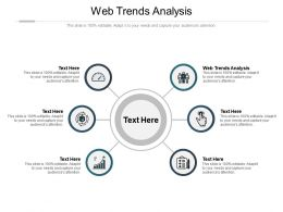 Web Trends Analysis Ppt Powerpoint Presentation Model Images Cpb
