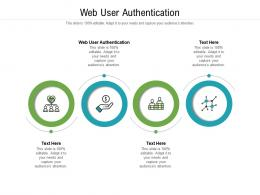 Web User Authentication Ppt Powerpoint Presentation Gallery Aids Cpb