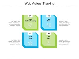 Web Visitors Tracking Ppt Powerpoint Presentation Outline Summary Cpb