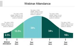 Webinar Attendance Ppt Powerpoint Presentation Inspiration Display Cpb