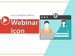 Webinar Icon Employees Development Professor Through Conferencing