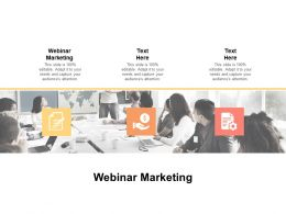 Webinar Marketing Ppt Powerpoint Presentation Professional Picture Cpb
