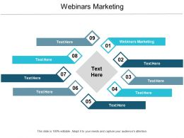 Webinars Marketing Ppt Powerpoint Presentation Styles Elements Cpb