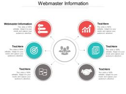 Webmaster Information Ppt Powerpoint Presentation Gallery Show Cpb