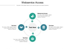Webservice Access Ppt Powerpoint Presentation File Rules Cpb