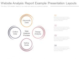 Website Analysis Report Example Presentation Layouts