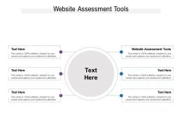 Website Assessment Tools Ppt Powerpoint Presentation Pictures Layout Ideas Cpb