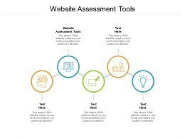Website Assessment Tools Ppt Powerpoint Presentation Styles Graphics Cpb