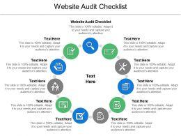 website_audit_checklist_ppt_powerpoint_presentation_ideas_maker_cpb_Slide01