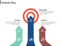 Website Blog Ppt Powerpoint Presentation Infographics Master Slide Cpb